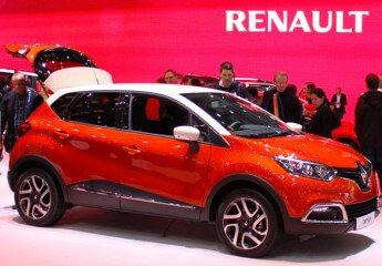 Renault Captur at the Geneva Auto Salon 2013