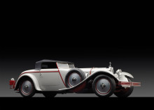 1928 Mercedes-Benz 680S Torpedo Roadster Side Profile