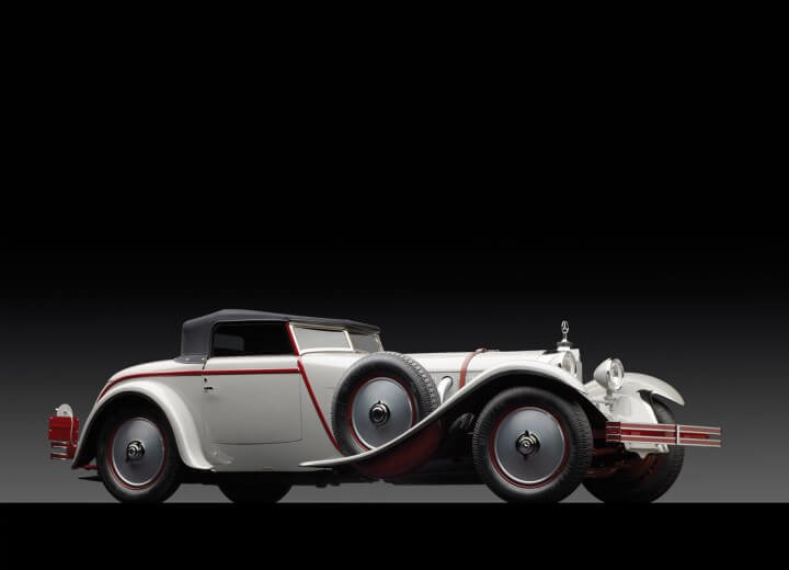 1928 Mercedes-Benz 680S Torpedo Roadster Side Profile