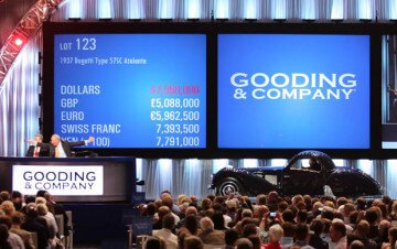 Top Prices for Classic Cars at the 2013 Pebble Beach Auction
