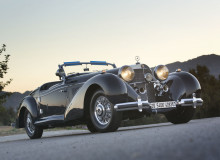 1939 Mercedes-Benz 540K Special Roadster  front three quarters view