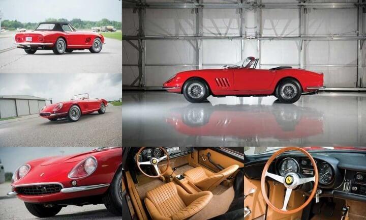 1967 Ferrari 275 GTB/4*S N.A.R.T Spider