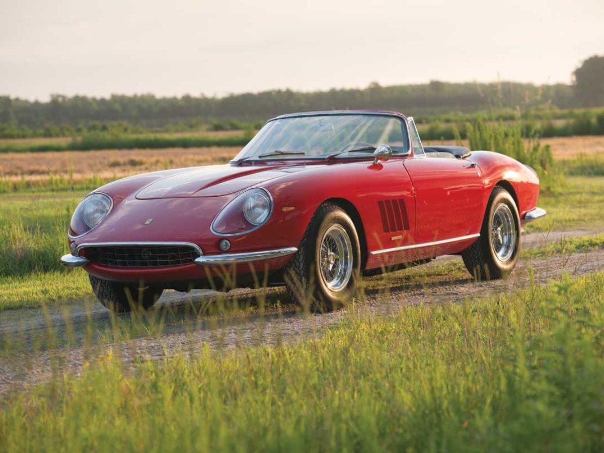 Most Expensive Road Going Car Ever 1967 Ferrari 275 Gtb 4s Spider