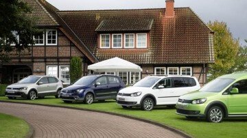 Four 2013 Volkswagen Cross Models