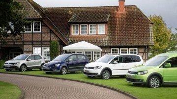 Four 2013 Volkswagen Cross Models