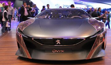 Peugeot Onyx at Geneva Auto Salon 2013