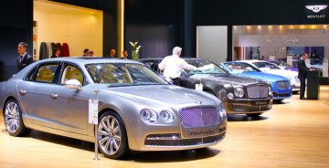 Bentley New Flying Spur and Mulsanne