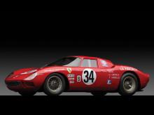 Red 1964 Ferrari 250 LM