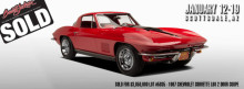 Red 1967 Chevrolet Corvette L88 2 Door Coupe