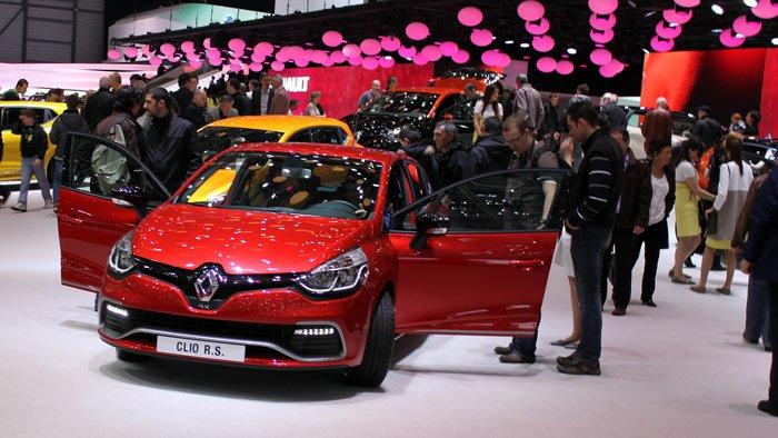 Renault Clio at Geneva Auto Show 2013