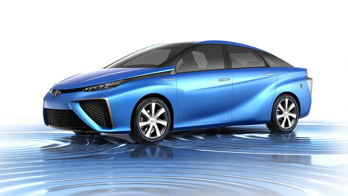 Toyota Fuel Cell Vehicle Concept Car