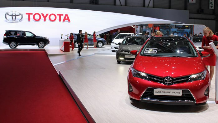 Toyota at the Geneva Auto Salon