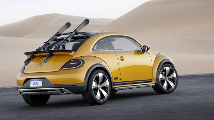 VW Beetle Dune Concept Car