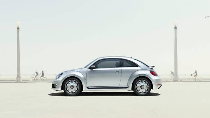 VW Beetle side profile