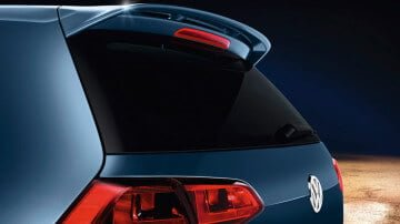 VW Golf VII rear view