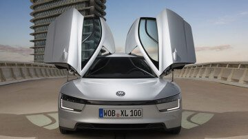 VW XL1 Doors Open