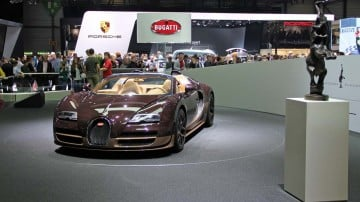 Bugatti Veyron Rembrandt at Geneva Auto Show 2014