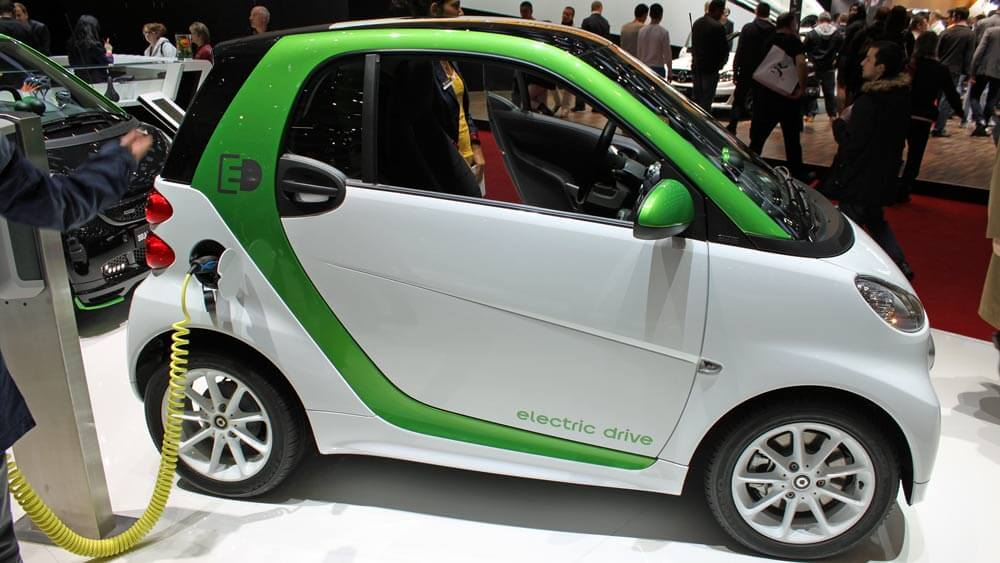 Electric Smart at Geneva Auto Show