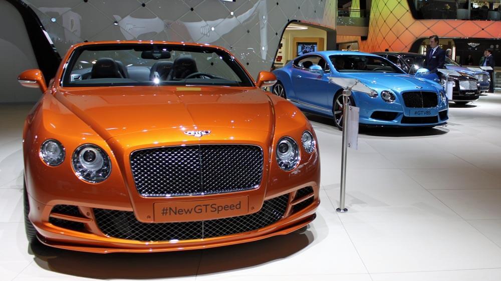 Bentley Continental GT Speed at Geneva Auto Show 2014