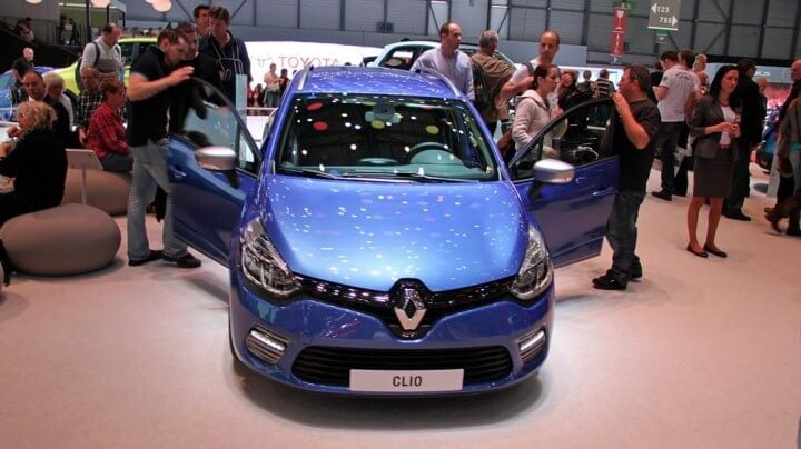 Renault Clio at the Geneva Auto Salon 2014