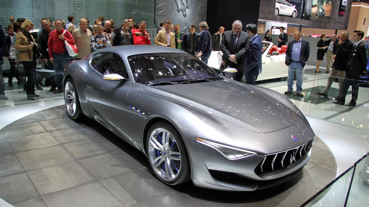 Maserati Alfieri at the Geneva Auto Salon 2014