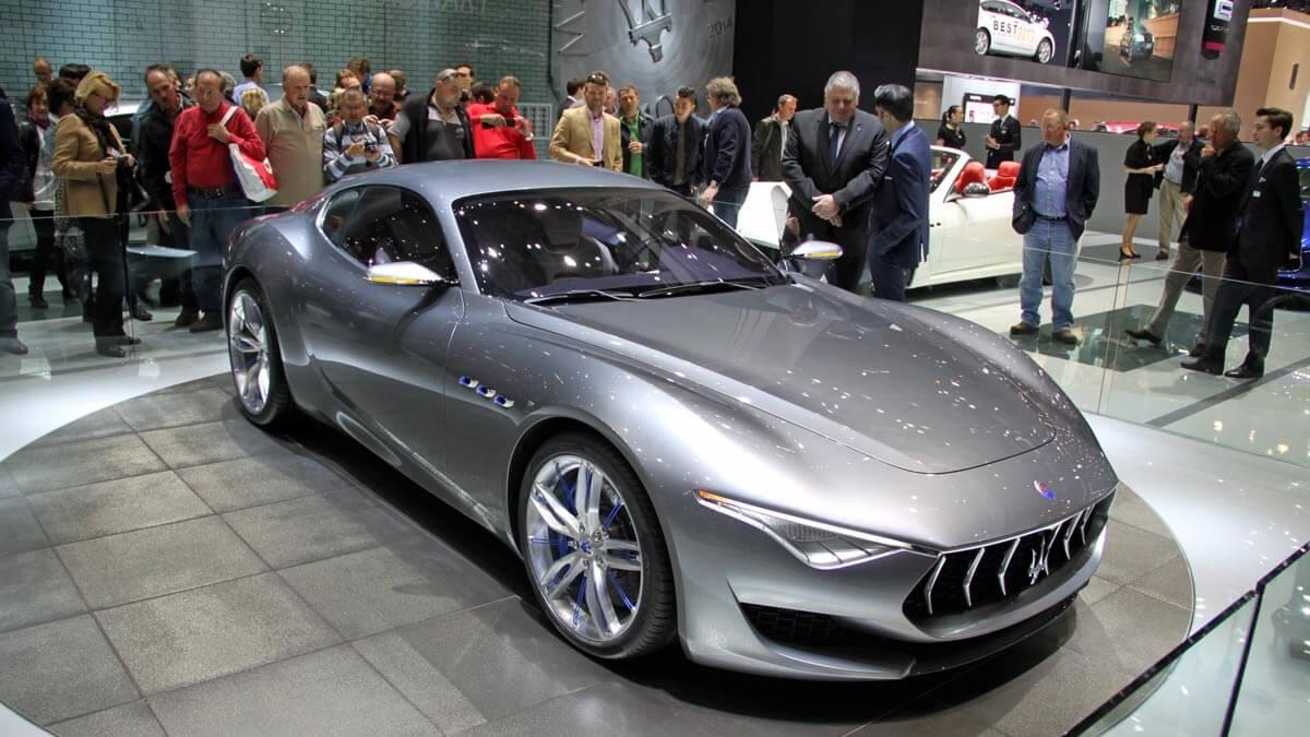 Maserati Alfieri at the Geneva Auto Salon 2014