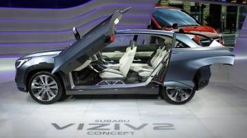 Subaru Viziv 2 Concept at Geneva Auto Salon 2014