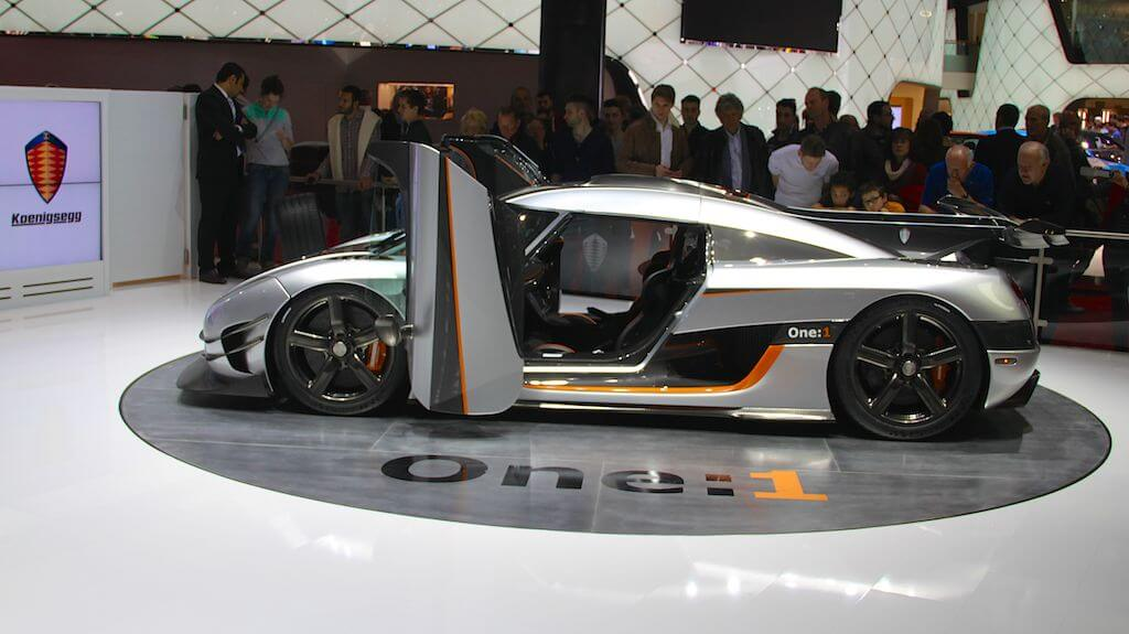 Koenigsegg one:1 at Geneva 2014