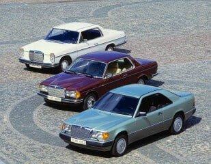 Mercedes W114, W123 and W124