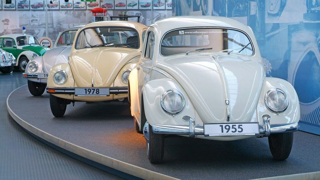 VW Beetles in Autostadt