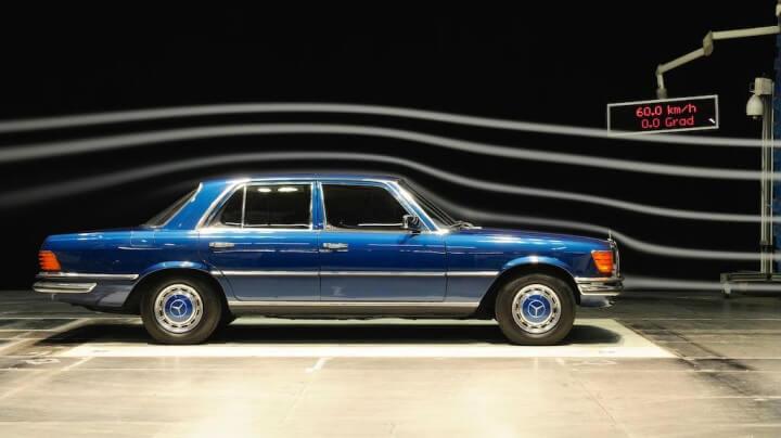 Mercedes Benz Aerodynamics Photo