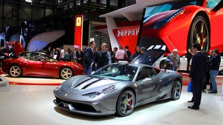 Ferrari 458 Speciale at the Geneva Auto Salon 2014