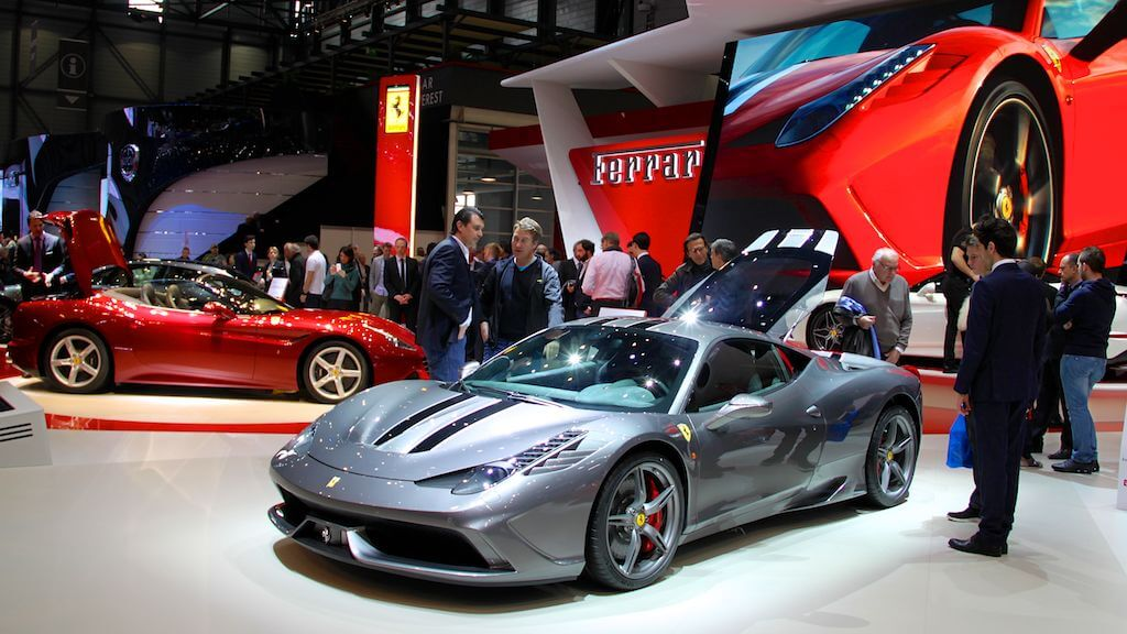 Ferrari 458 Speciale at the Geneva Auto Salon 2014