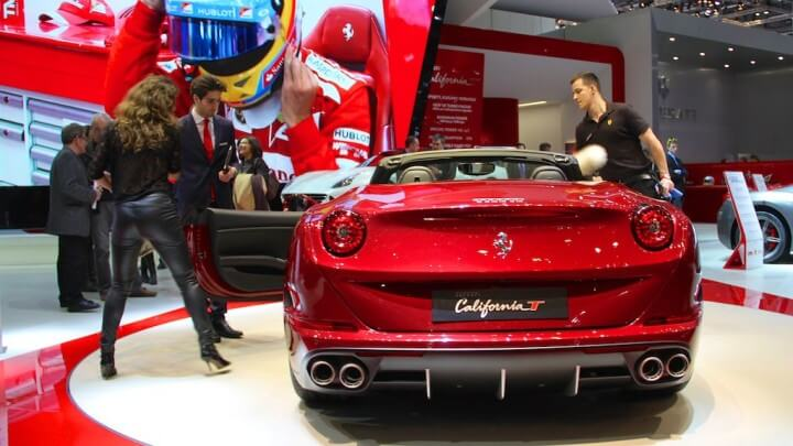 Ferrari California T at the Geneva Auto Salon 2014