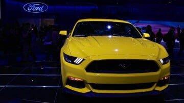 Ford Mustang at the Geneva Auto Salon 2014