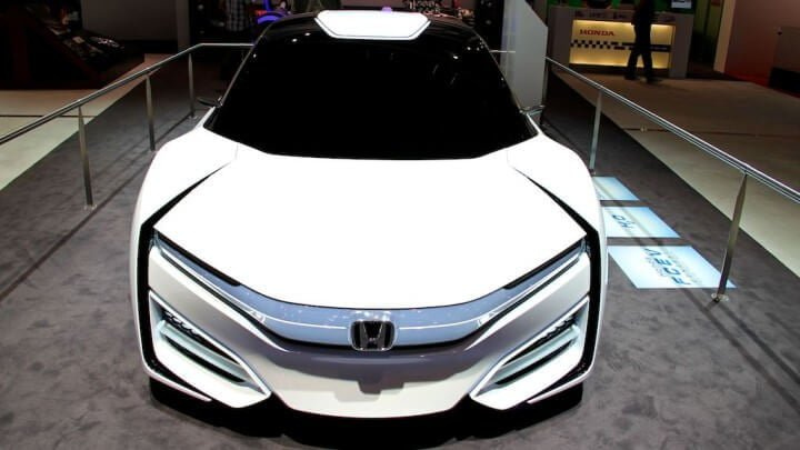 Honda FCEV Concept at the Geneva Auto Salon 2014