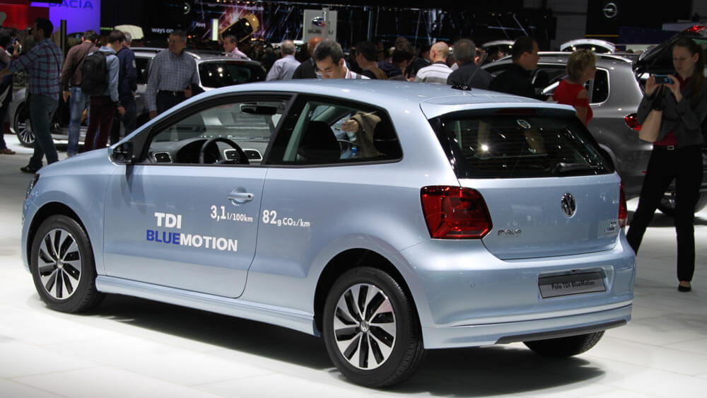 VW Polo at the Geneva Auto Salon 2014