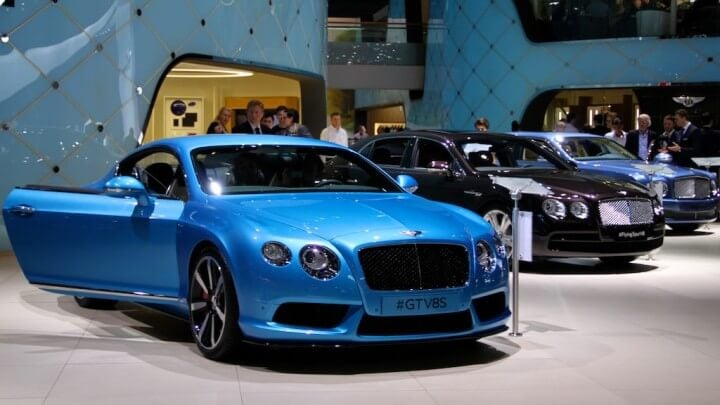 Bentley GT and Flying Spur