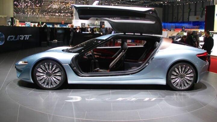 Qaunt E-sportlimousine at Geneva Auto Salon 2014