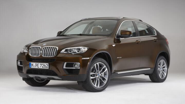 Brown BMW X6
