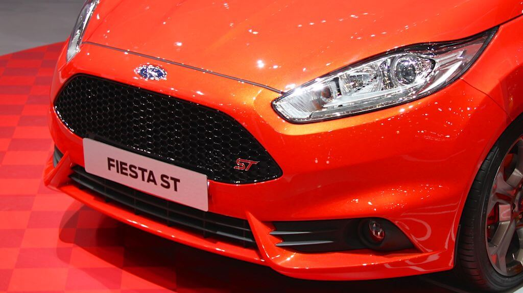 Ford Fiesta ST at Geneva Auto Salon 2014