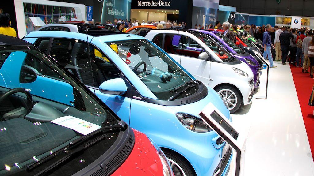 Smart Cars at the Geneva Auto Salon