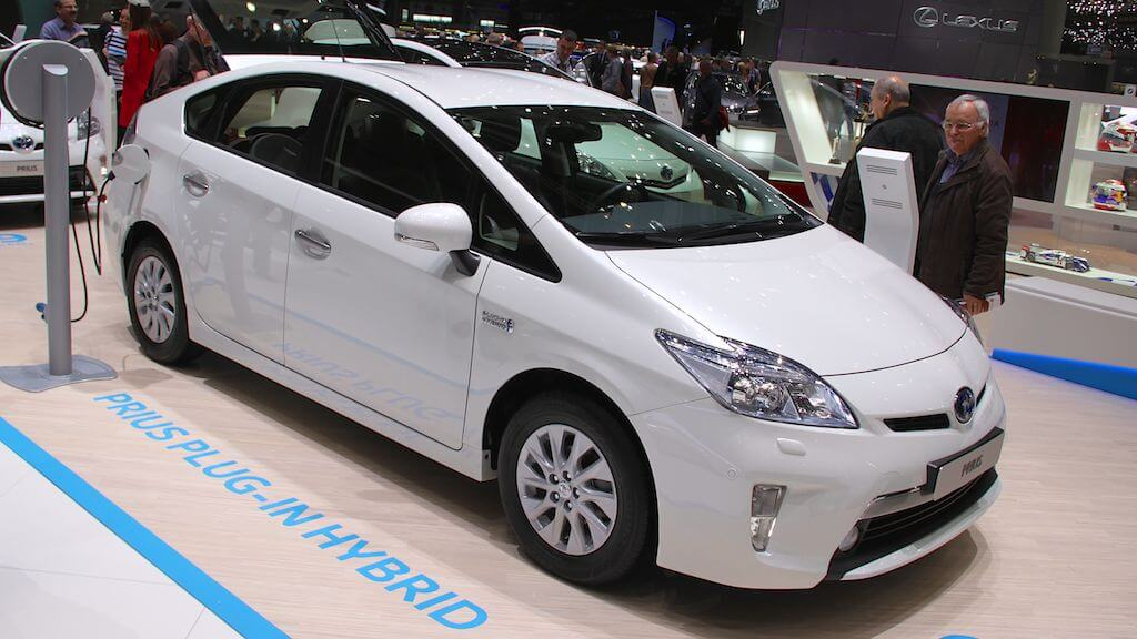 Toyota Prius Plug In Hybrid at Geneva Auto Salon 2014