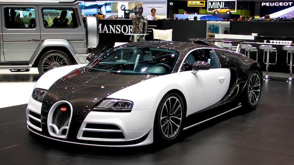 Masonry Bugatti at Geneva Autosalon