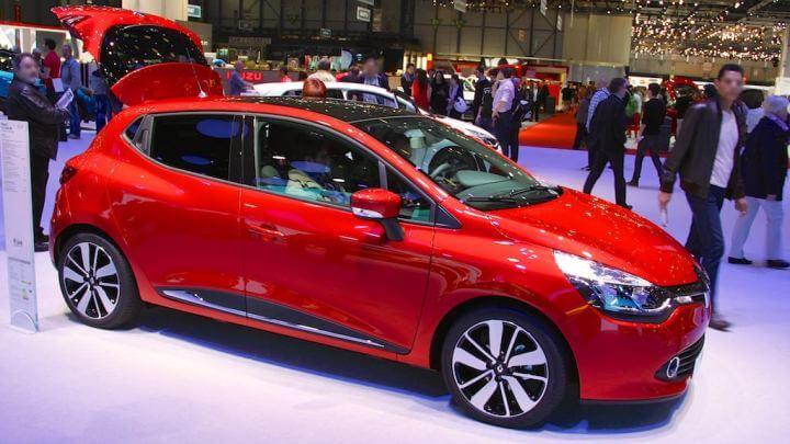 Renault Clio at the Geneva Auto Salon