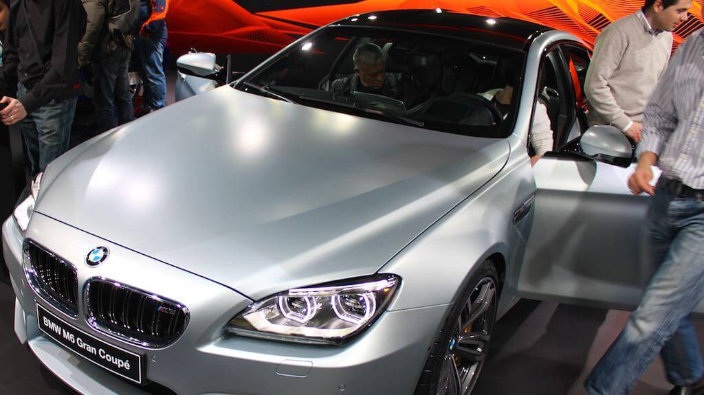 BMW M6 Grand Coupe at the Geneva Auto Salon 2013