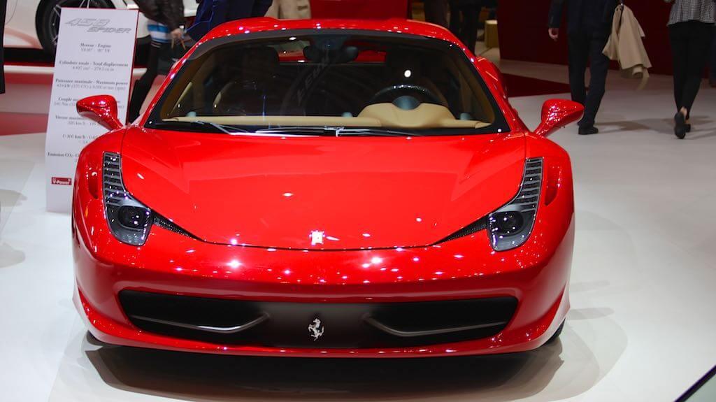 Ferrari 458 Spider Geneva Auto Salon