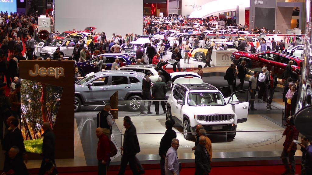 eep at the Geneva Auto Salon 2014