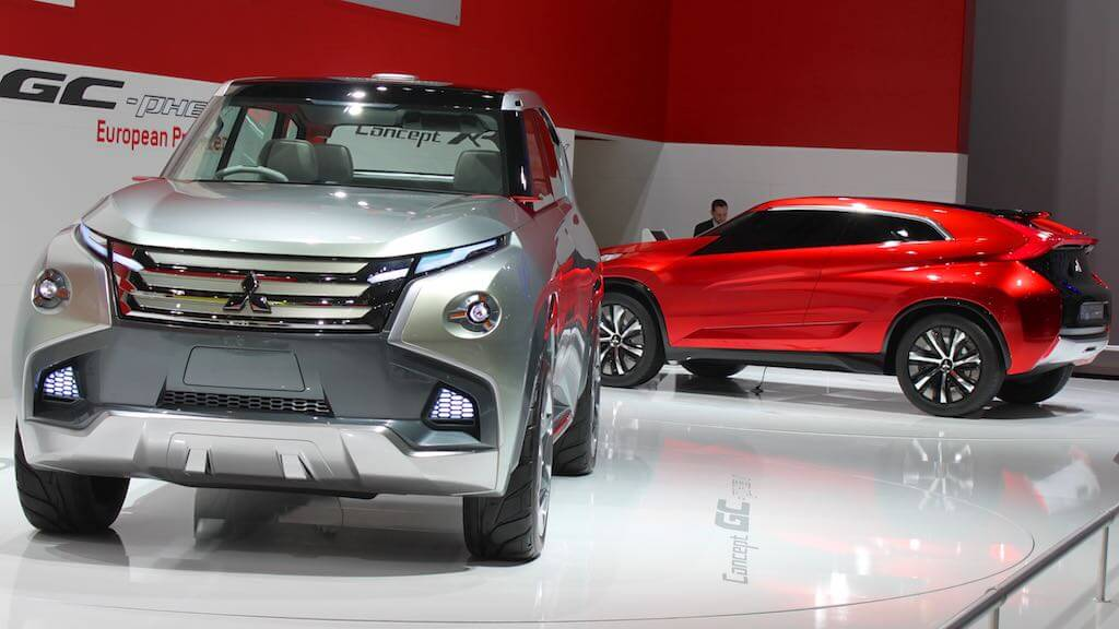 Mitsubishi Concept GC PHEV at Geneva Auto Salon