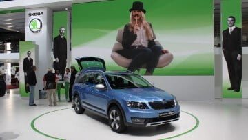 Skoda Octavia Scout at the Geneva Auto Salon